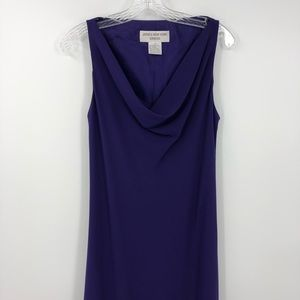 Jones New York Dress Women's 14 Purple Evening